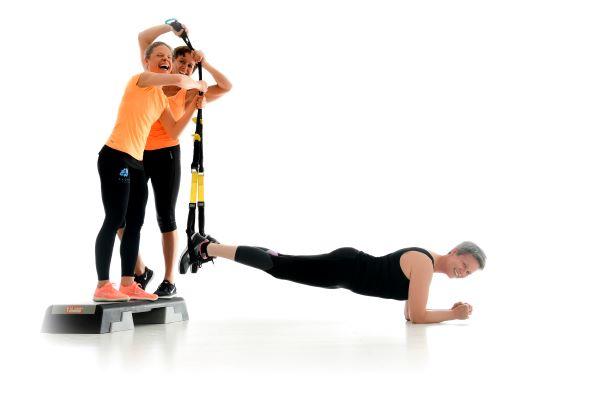 TRX fit & fröhlich Sportscheune