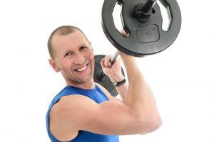 Langhanteltraining fit & fröhlich Sportscheune